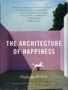 Image.Book Cover.Alain de Botton.Architecture of Happiness