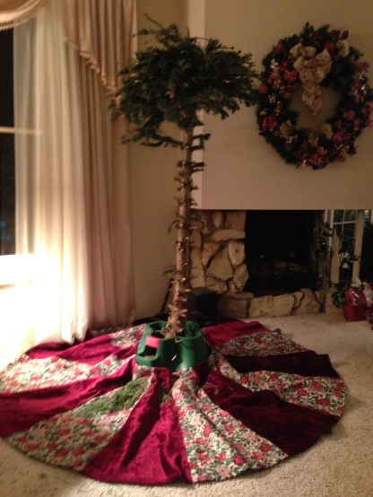 Geivett Post-Christmas Tree-Jan. 2015