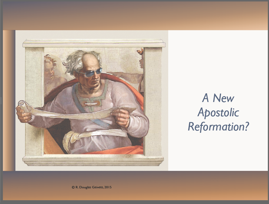A New Apostolic Reformation Bellevue Slide Presentation Doug