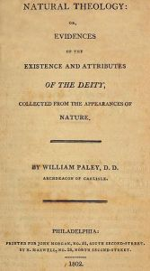 William Paley, Natural Theology
