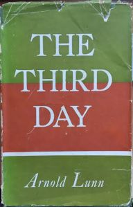 Book Cover-Arnold Lunn-The Third Day