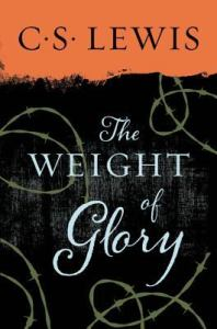 Book Cover-CSLewis-Weight of Glory